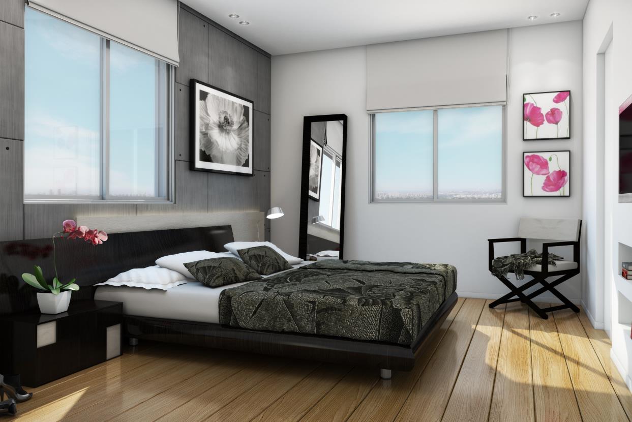 הדמיית חדר שינה תל חי